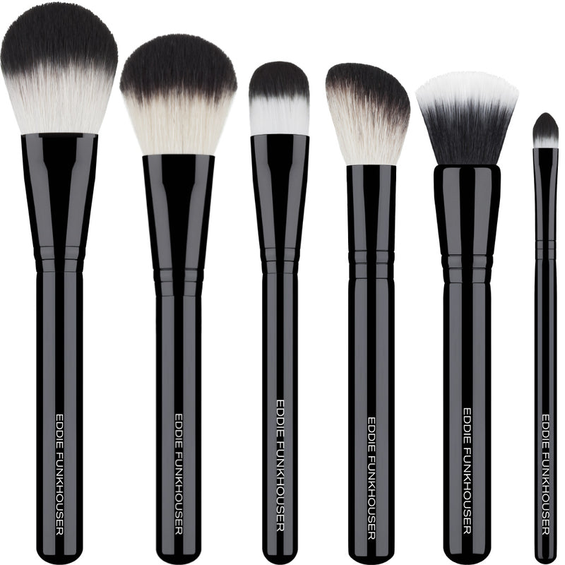 FACE BRUSH ESSENTIALS,  - EDDIE FUNKHOUSER® Cosmetics