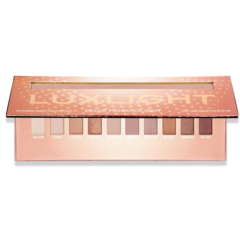 LUXLIGHT EYESHADOW PALETTE |  | Eddie Funkhouser® Cosmetics