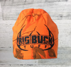 "Big Buck Tuff Kati - 8"" Hunter Blaze Orange Real Tree AP Camo Knit Beanie -"