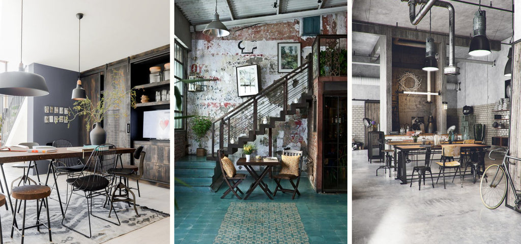 ... or rustic style within the overall design. Depending on your preference industrial decor can err on the side of contemporary chic or rugged ste&unk. & How to Create Industrial Interior - Design Guide - Vanilla Home Store