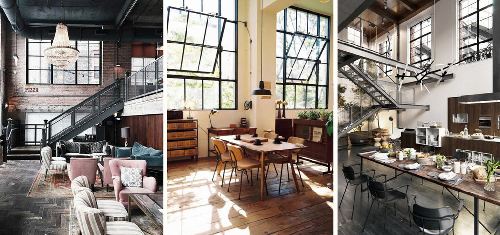 or rustic style within the overall design depending on your preference industrial decor can err on the side of contemporary chic or rugged steampunk - Industrial Interior Design Blog