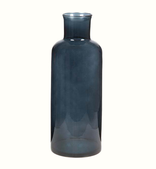 BLUE GLASS VASE (3 different sizes)