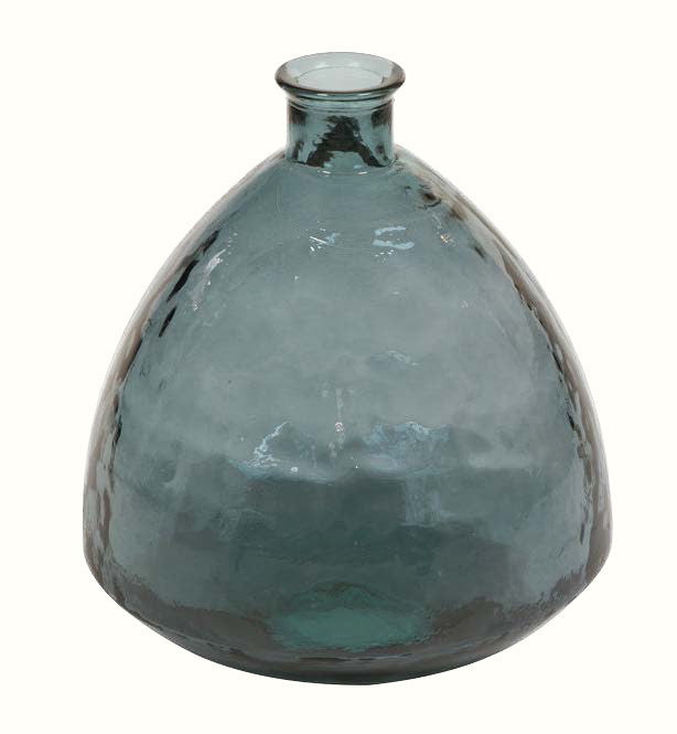 GREY GLASS VASE (2 different sizes)