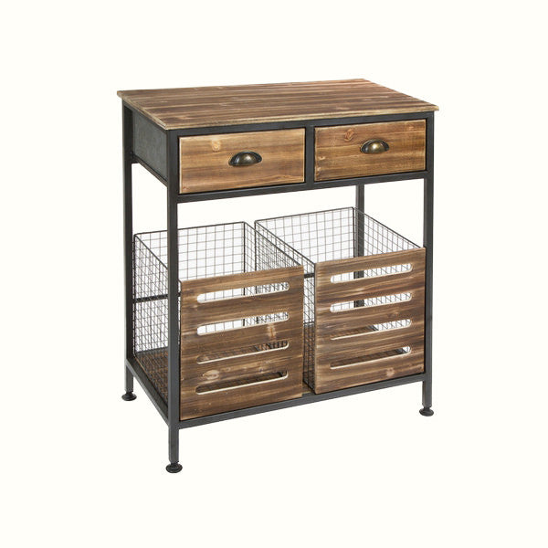 INDUSTRIAL STYLE CABINET - Vanilla Home Store