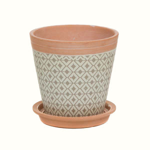 PATTERNED PLANTER (3 different styles)