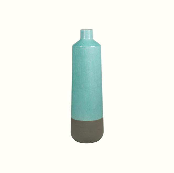 TWO COLOUR CERAMIC VASE