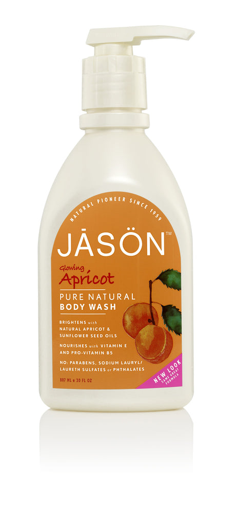 Glowing Apricot Body Wash
