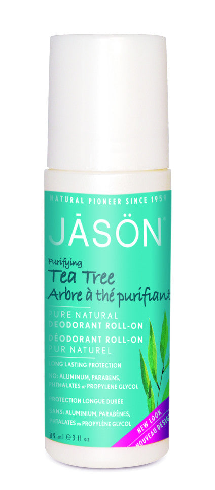 Purifying Tea Tree Deodorant Roll On