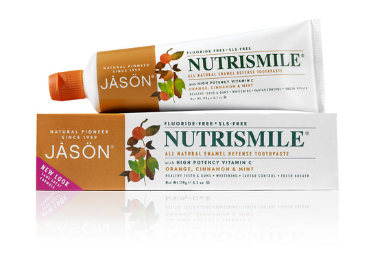 Nutrismile® Enamel Defense Toothpaste - Orange, Cinnamon & Mint (Fluoride Free)