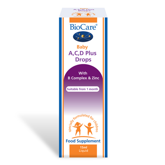 Baby A, C, D Plus Drops 15ml Liquid