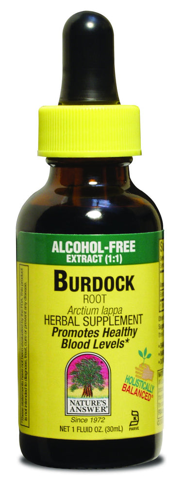 Burdock Root 30ml - Alcohol Free