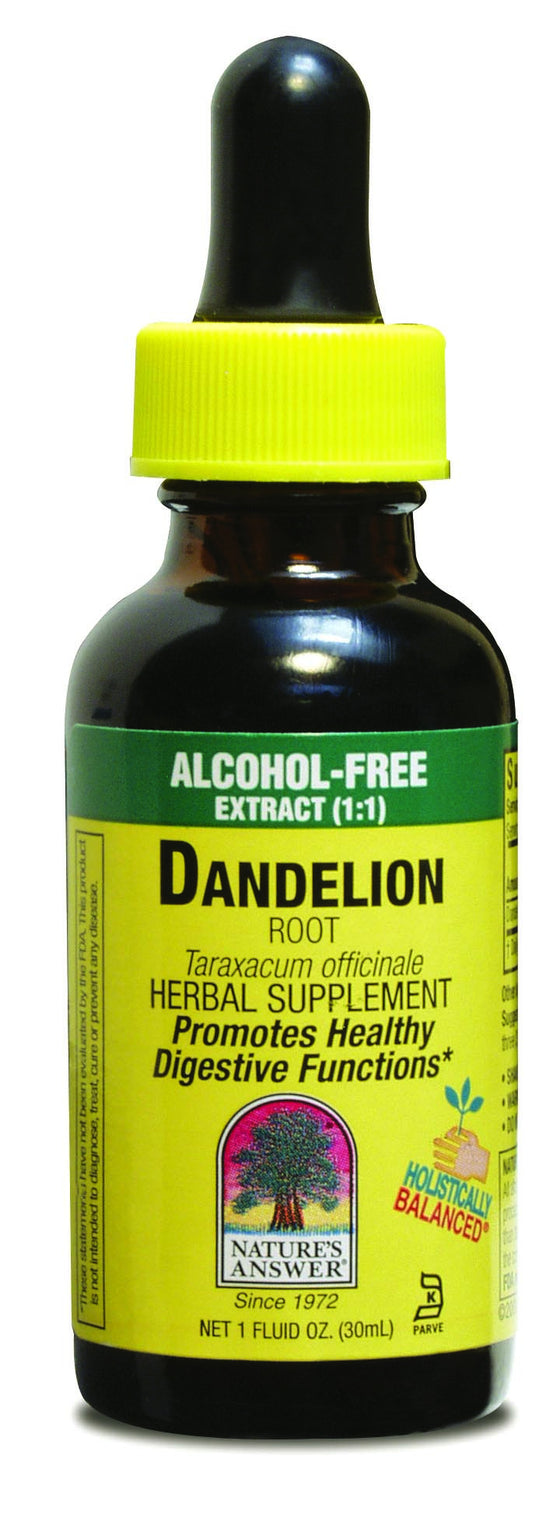 Dandelion Root 30ml - Alcohol Free