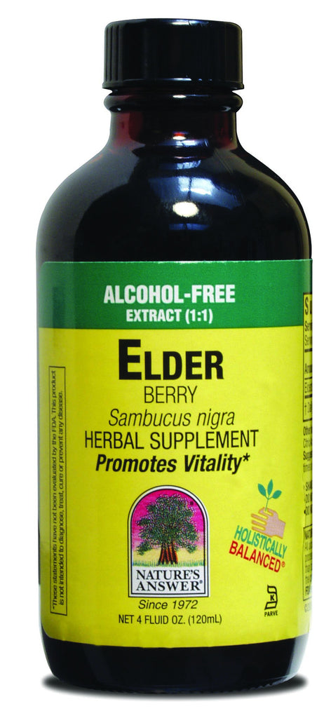 Elder Berry 120ml - Alcohol Free