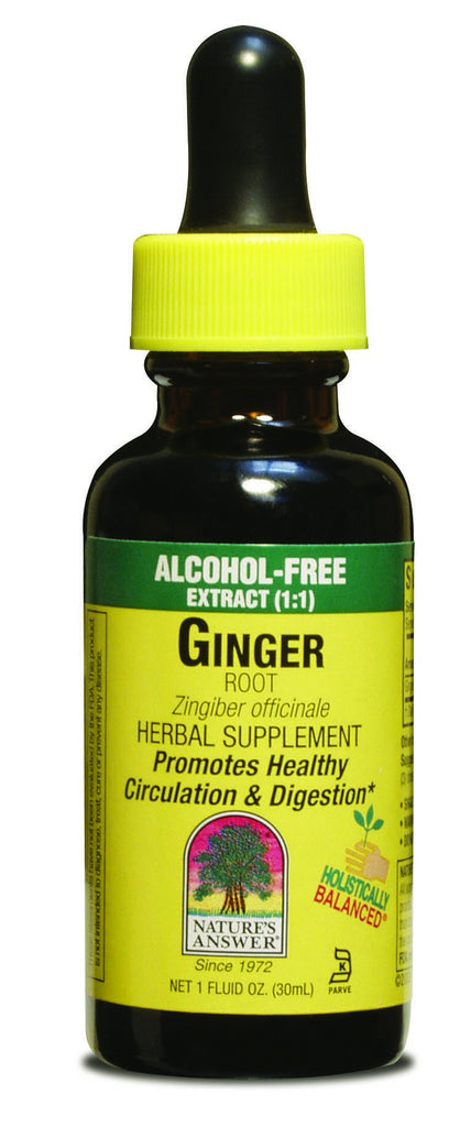 Ginger Root 30ml - Alcohol Free