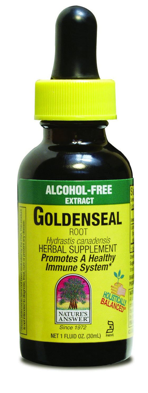 Golden Seal Root 30ml - Alcohol Free