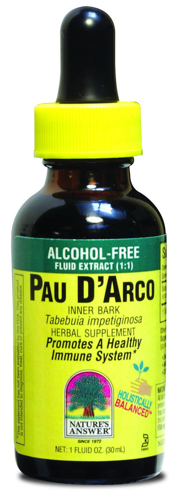 Pau D'Arco Inner Bark 30ml - Alcohol Free