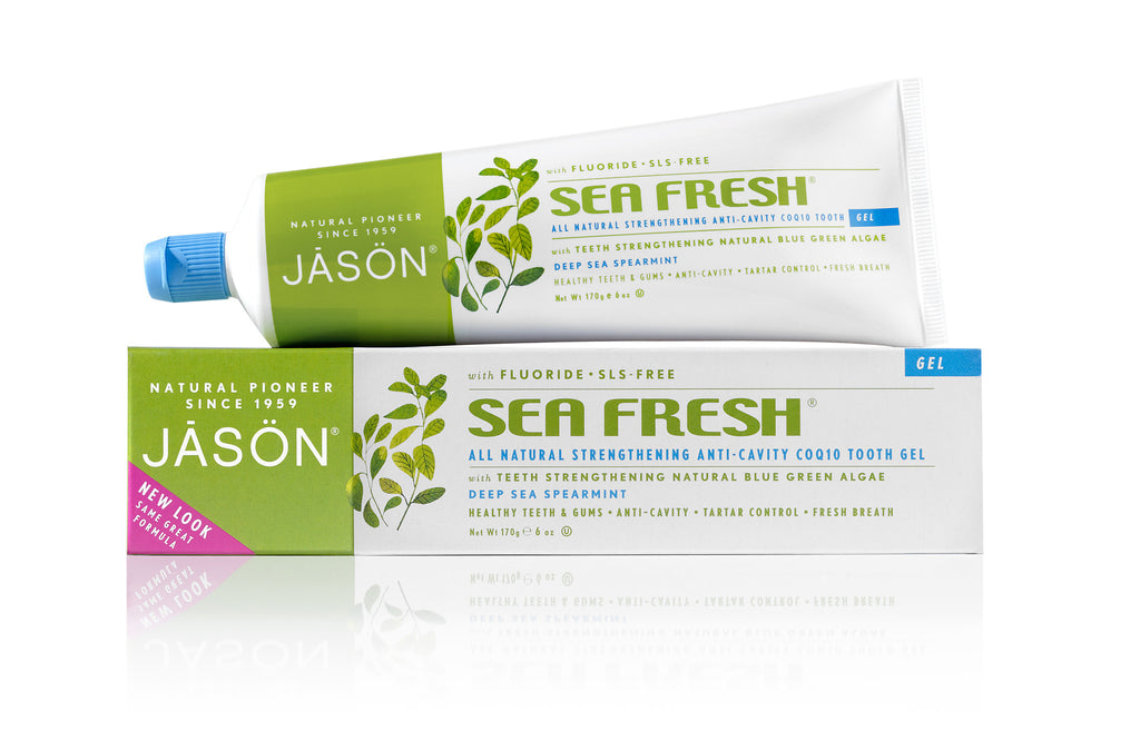 Sea Fresh® Strengthening Anti-Cavity Toothpaste - Spearmint