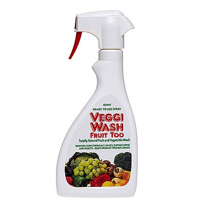 Vegetable Wash. Non toxic fruit and vegetables