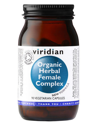 Organic Herbal Female Complex 90 Capsules
