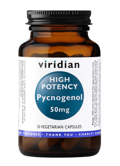 High Potency Pycnogenol 50mg - 30 Capsules