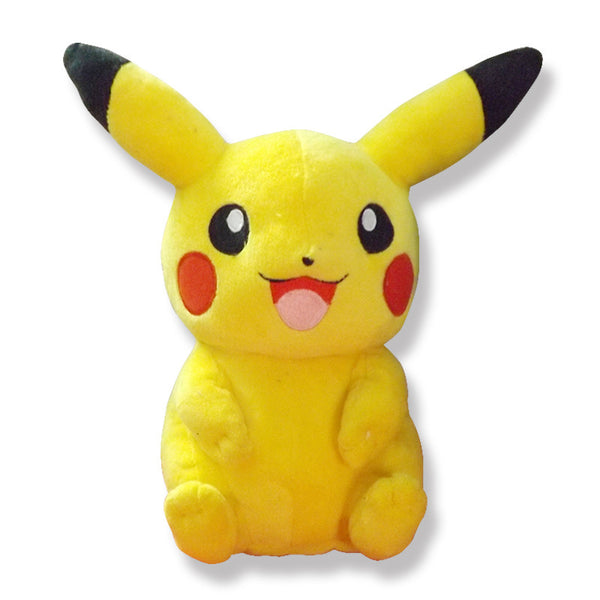 22cm Pikachu Plush Toys Children Gift Cute Soft Toy Cartoon Pocket Monster Anime Kawaii Baby Kids Toy Pikachu Stuffed Plush Doll