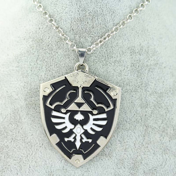 Anime Game The Legend of Zelda Metal Pendant Necklace The Triangle Mark Necklace Pendant 3 Colors