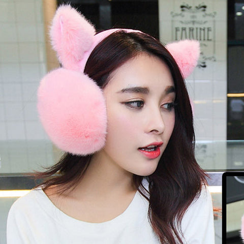 Cat Earmuffs (Various Colors)