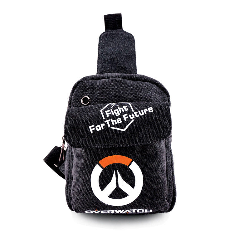 Mini daily use gamer bag shoulder bag cycling small bag hot game watchman pioneer/ watch over OW bag AB213