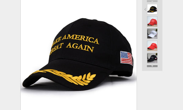 2017 Hot Sale Unisex Hat Make America Great Again Donald Trump Hat Cap Republican 2016 US Trump For President USA Hat