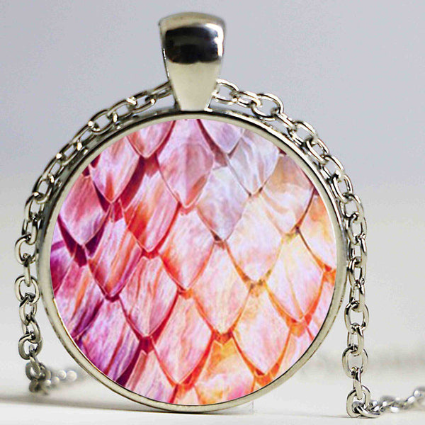 Wholesale Glass Dome Necklace Dragon Egg Pendant Necklace Game of Thrones Dragon Egg Necklace