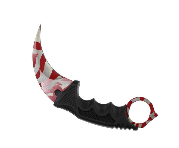 Hot ! Handmade Hunting Karambit Knife CS GO Never Fade Counter Strike Fighting Survival Tactical Knife Claw Camping knives Tools