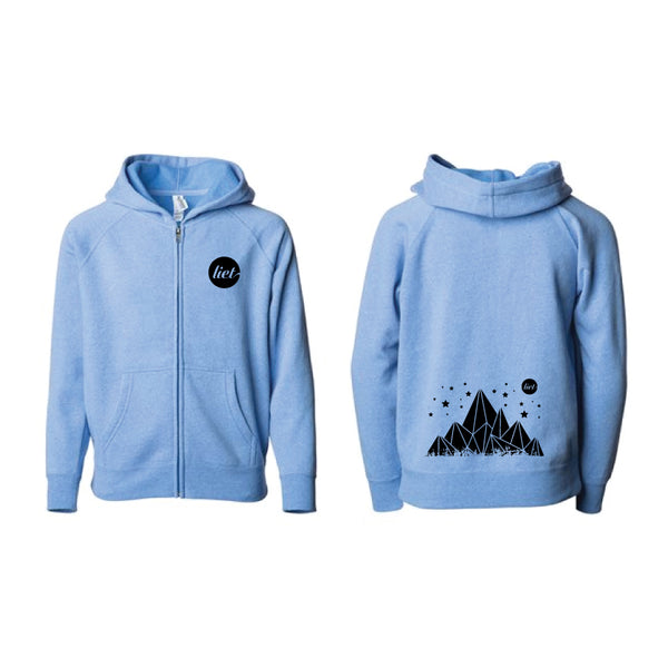 Starliet - Youth Zip Up Hoodie