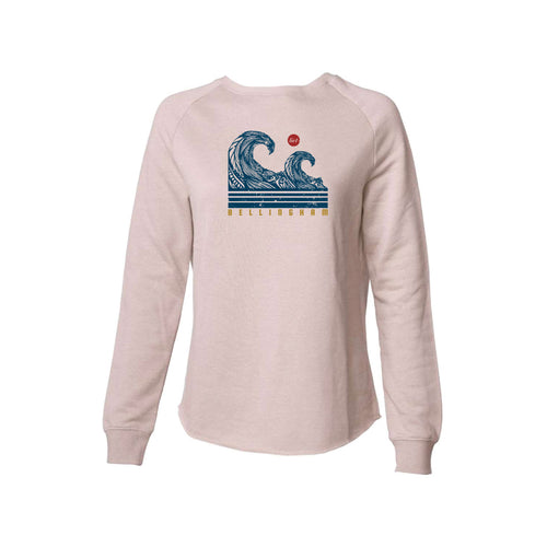 Salish Sea - Women's Wave Crew Neck