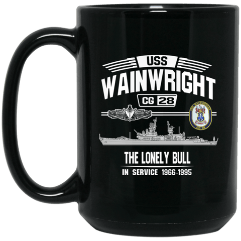 USS Wainwright CG 28 Coffee Mugs and Stein
