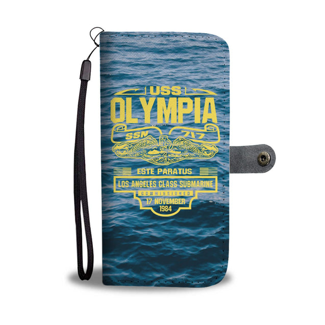 USS Olympia SSN 717 Phone Case