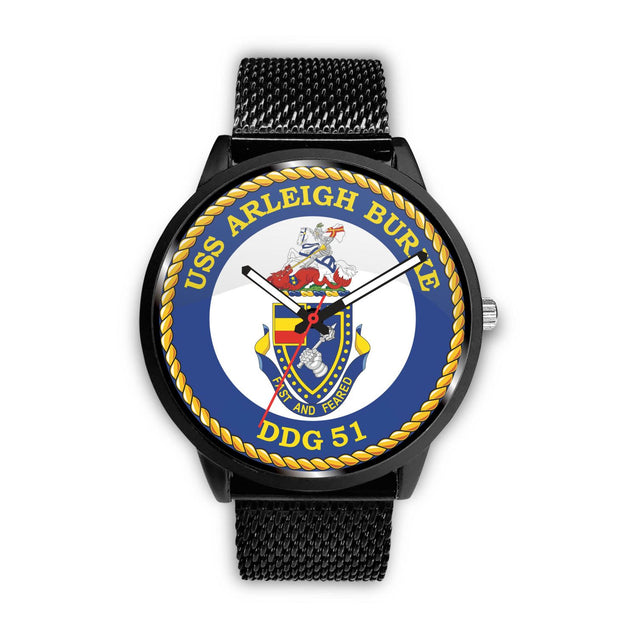 USS ARLEIGH BURKE DDG 51 WATCH