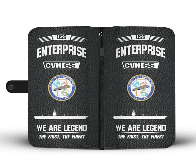 USS ENTERPRISE CVN 65 Phone Case
