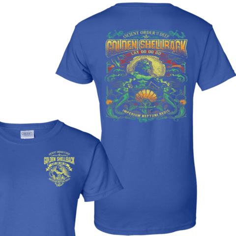 ANCIENT ORDER OF THE DEEP GOLDEN SHELLBACK T Shirts and Hoodies