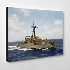 USS Weiss APD 135 Canvas Wraps