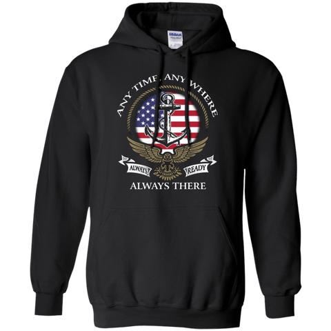 Image of ALWAYS READY T Shirt and Hoodies