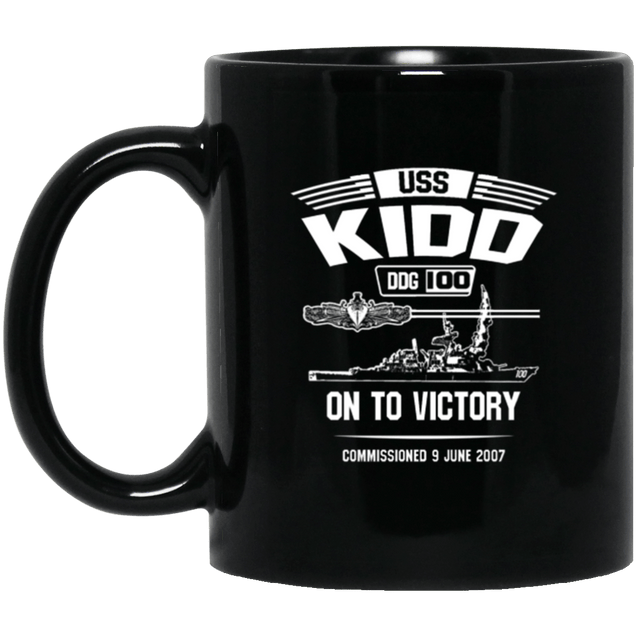 USS KIDD DDG-100  Coffee Mugs