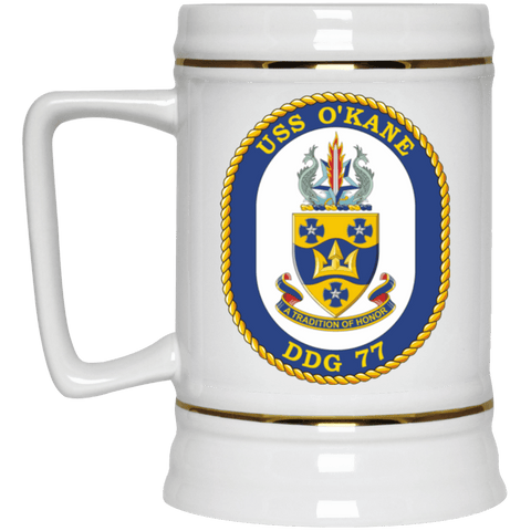 USS O'Kane Coffee Mugs