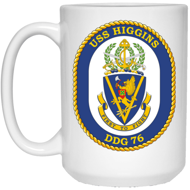 USS Higgins DDG 76 Coffee Mugs