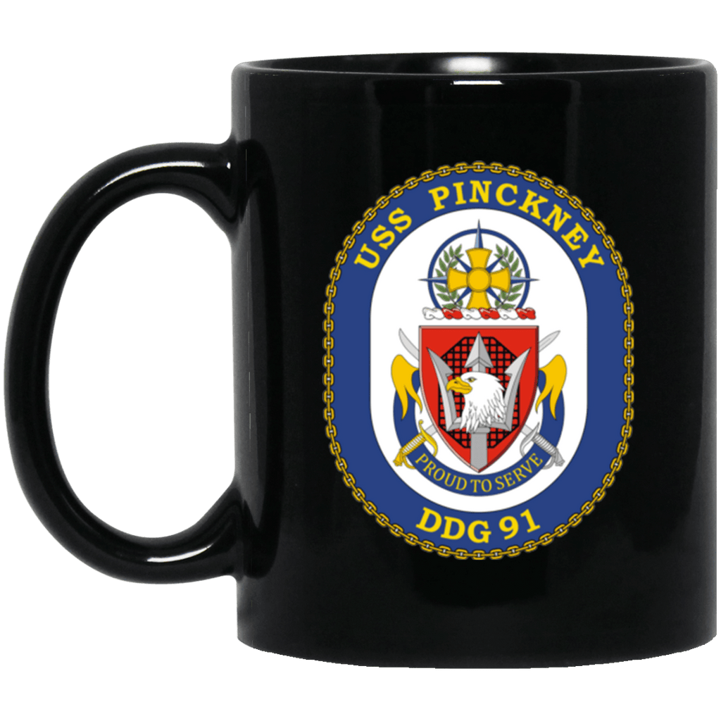 USS Pinckney DDG 91 Coffee Mugs
