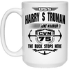Image of USS Harry Truman CVN-75 Coffee Mugs