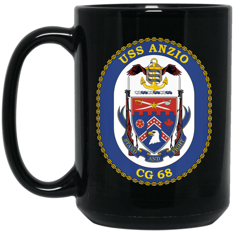 USS Anzio CG-68 Coffee Mugs