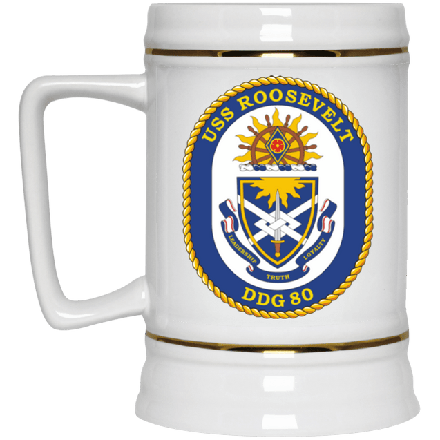 USS Roosevelt DDG 80 Coffee Mugs