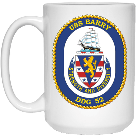 USS Barry DDG 52 Coffee Mugs