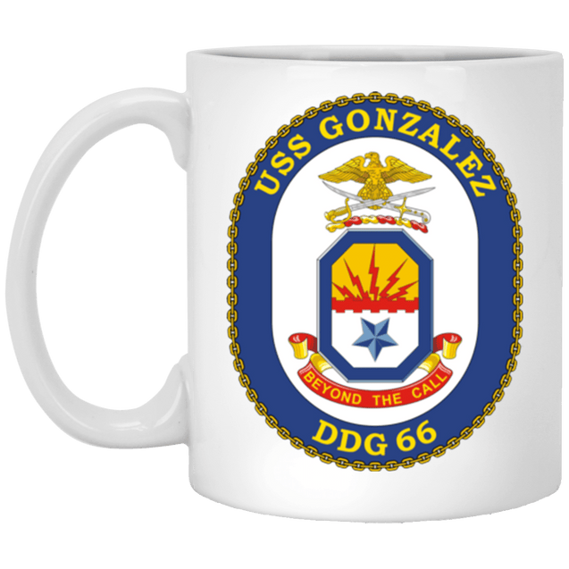 USS Gonzalez DDG 66 Coffee Mugs