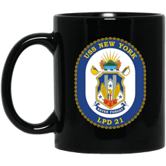 USS New York LPD 21 Coffee Mugs